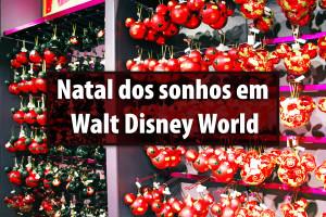 Natal dos Sonhos em Walt Disney World
