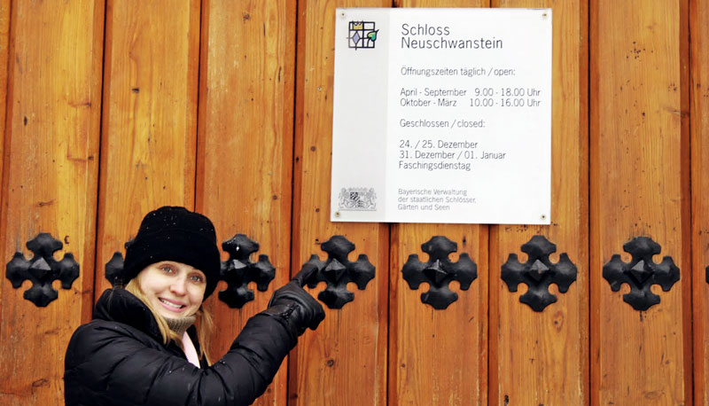 Horários de abertura do Castelo de Neuschwanstein
