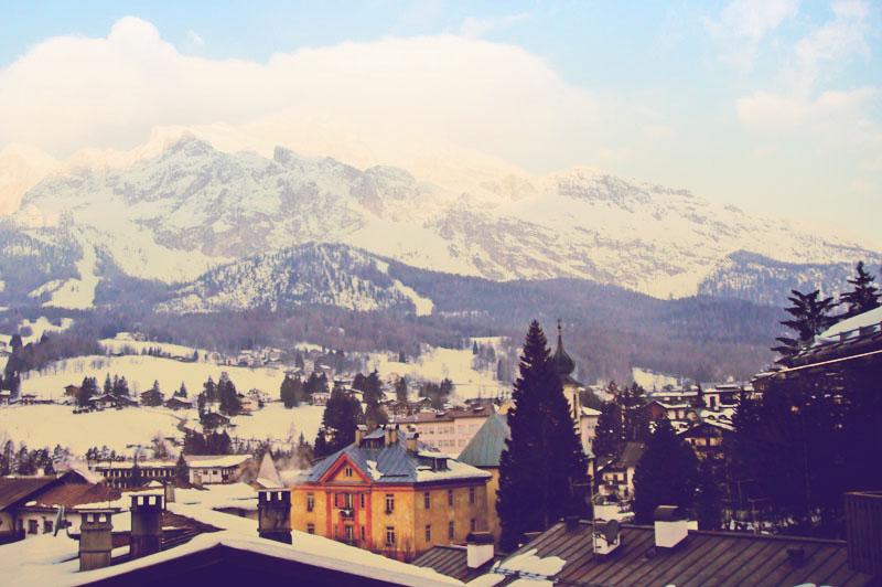 Cortina d'Ampezzo, na Província de Belluno, Itália