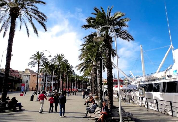 Genova nos arredores do Eataly