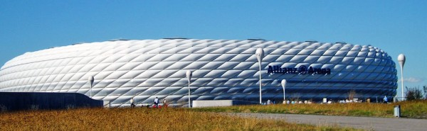 O incrível estádio Allianz Arena