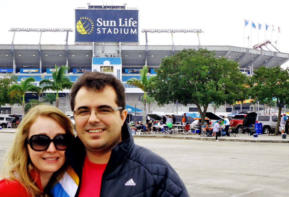 Sun Life Stadium, em Miami Gardens, Flórida