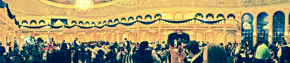 Panorama do Be Our Guest Restaurant