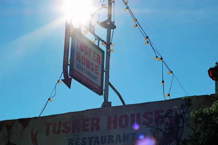 A fachada do restaurante Tusker House, no parque Animal Kingdom