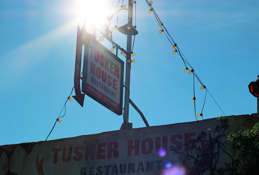 A fachada do restaurante Tusker House, no parque Animal Kingdom