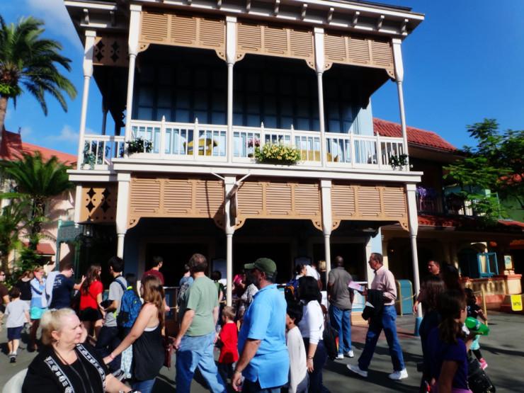 Aloha Isle, no Magic Kingdom, pode lhe passar despercebido