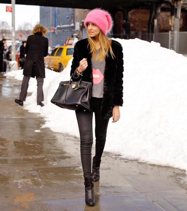 Outro look de inverno da Chiara, do blog http://www.theblondesalad.com/