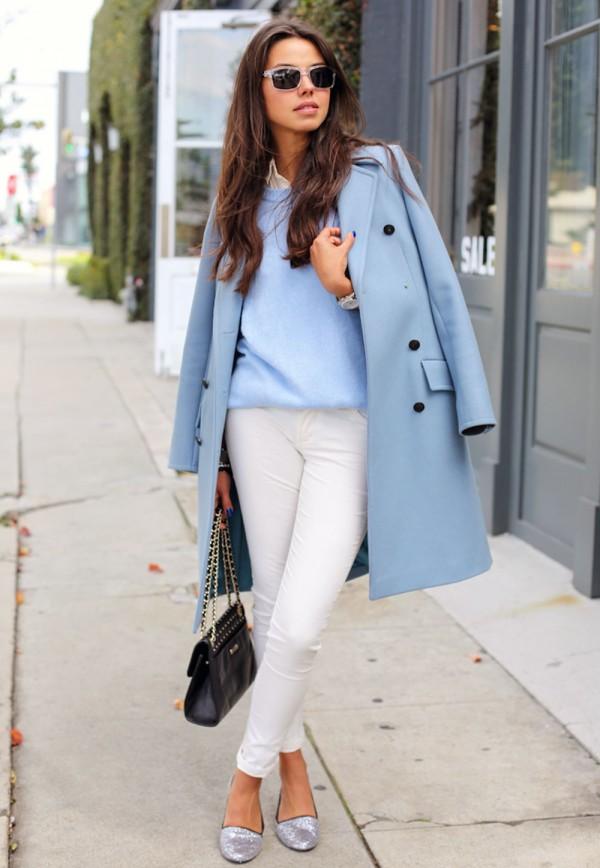 Annabelle Fleur, do Blog http://vivaluxury.blogspot.com.br/, com um casaco ideal para o inverno
