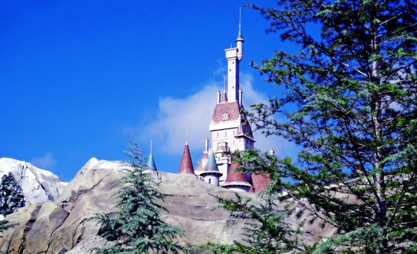 O Castelo da Fera, na Nova Fantasyland, Magic Kingdom