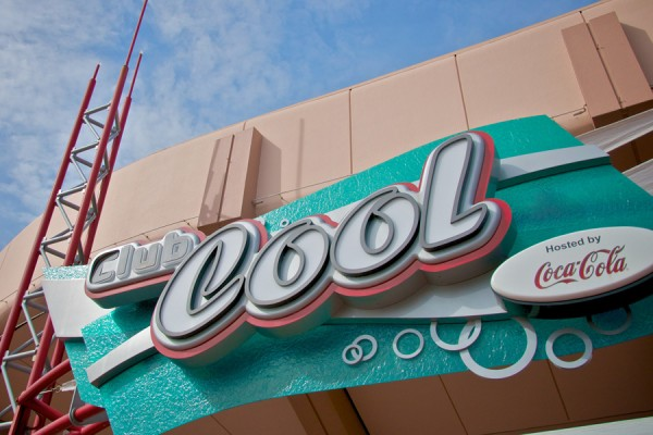Entrada do Epcot Club Cool/ Foto: Disney Parks Blog