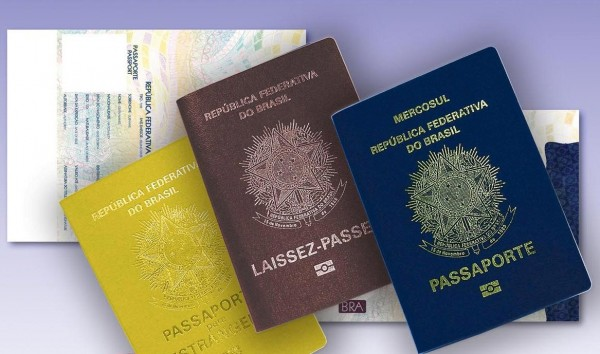passaportes brasileiros