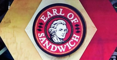 Logomarca do Earl of Sandwich Downtown Disney
