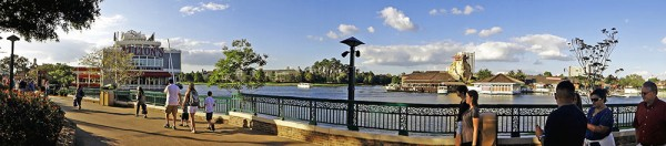 Panorama de Downtown Disney