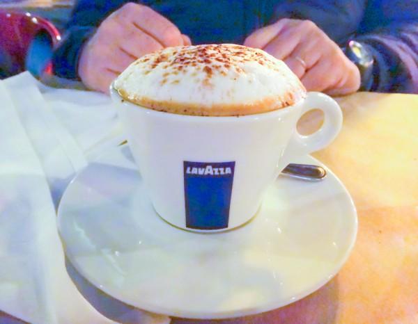 Caffè Lavazza, na Birreria do Eataly NYC