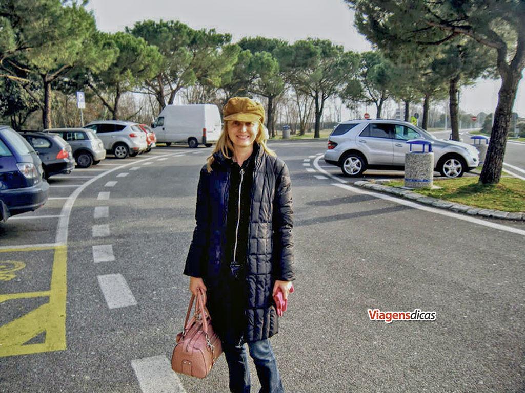 Parada para um espresso ao longo de uma autoestrada italiana