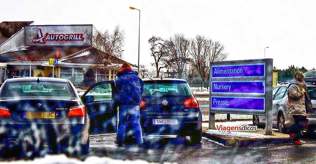 O Autogrill e seus similares são uma parada imperdível ao longo das autoestradas européias