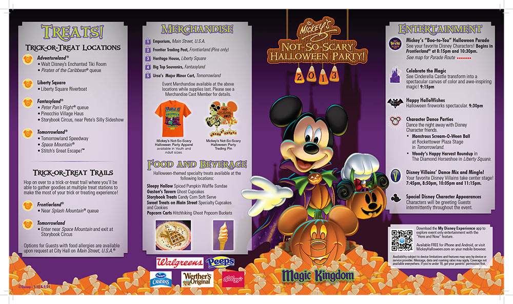 Guia do Evento - Festa de Halloween do Mickey