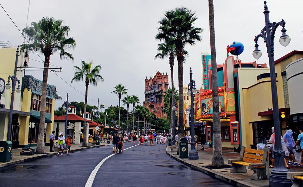 Disney em dias de Chuva