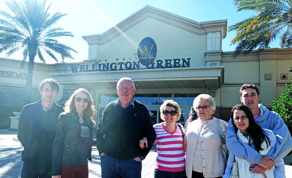 Visitando um Shopping em Palm Beach County