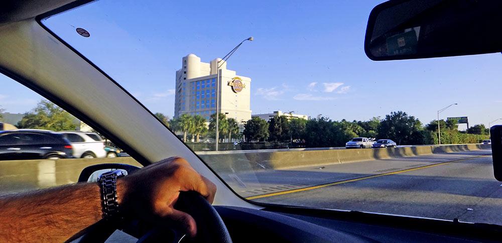 Hard Rock Casino visto da Turnpike