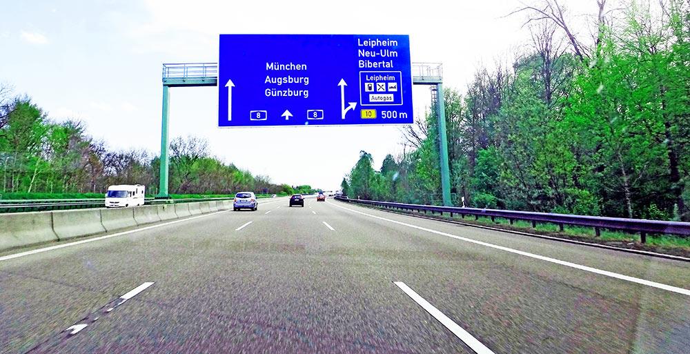 Depois de nossa agradável visita à Heidelberg, pegamos a Autobahn rumo à Munique