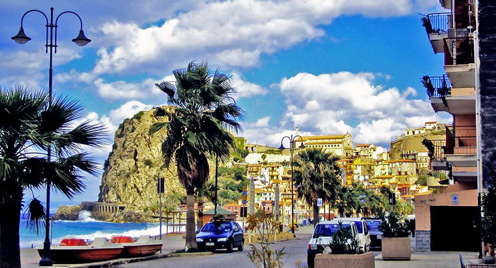 A cidade de Scilla
