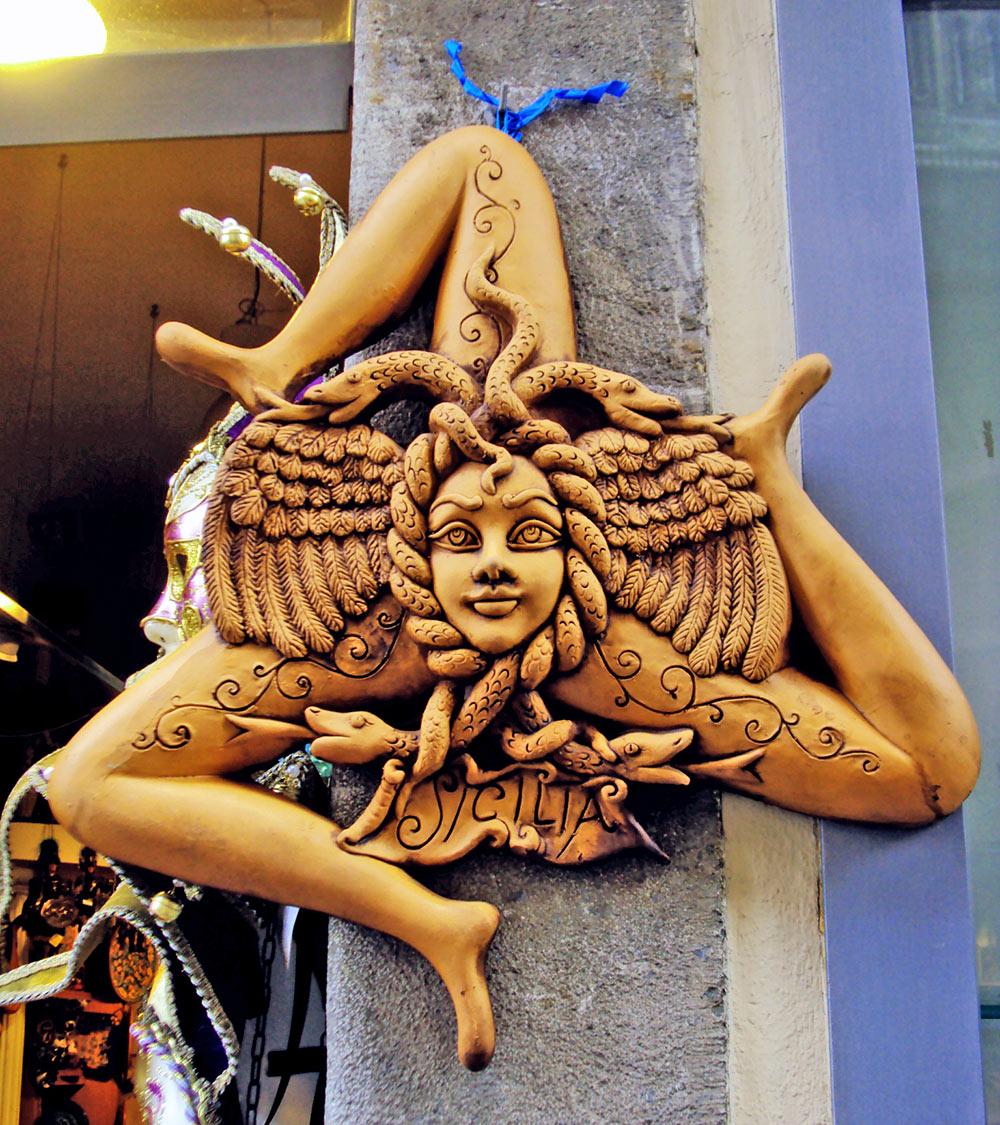 O símbolo da Sicilia