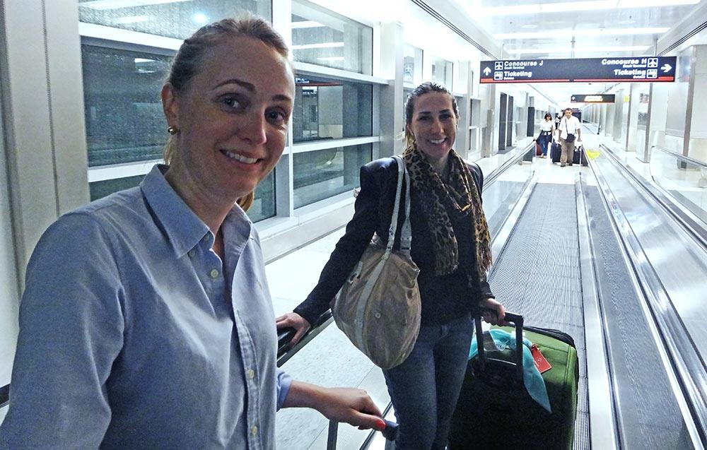 Chegada aos Estados Unidos pelo Aeroporto de Miami, Flórida