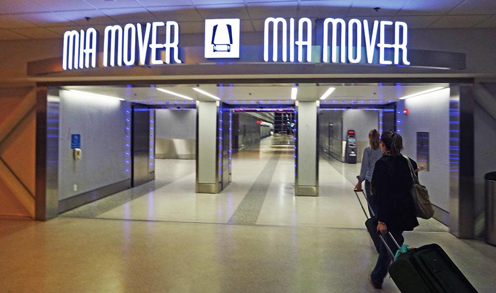 """Nada diz mais """"Bem-vindo à Miami"""" do que este portal para o MIA MOVER"""