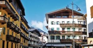 Arquitetura de Cortina d'Ampezzo