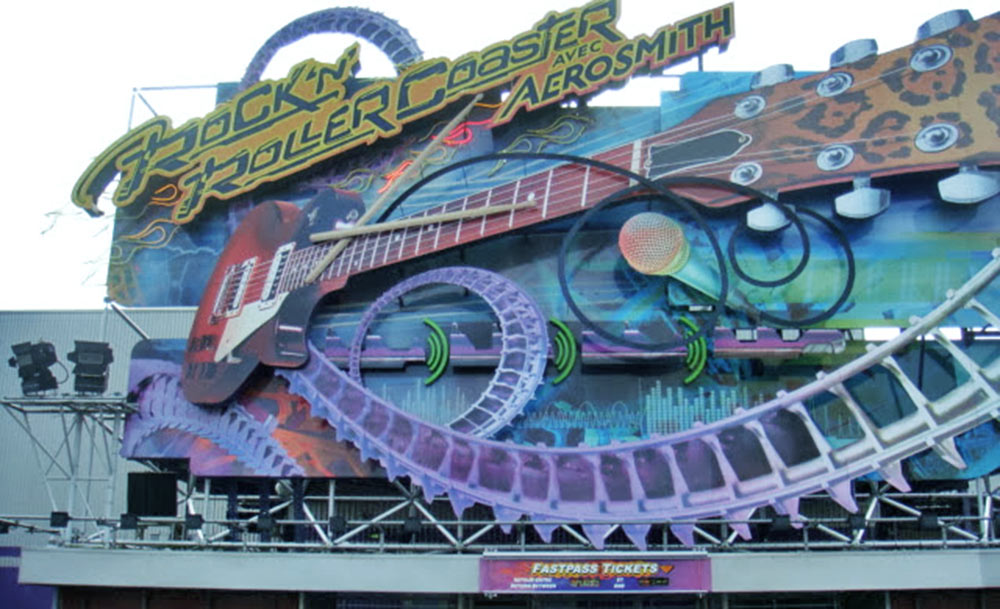 Rock 'n' Roller Coaster Starring Aerosmith, na Disneyland Paris