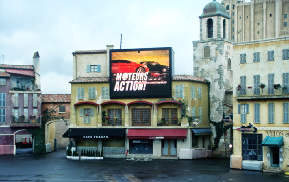 Moteurs... Action! Stunt Show Spectacular, na Disneyland Paris