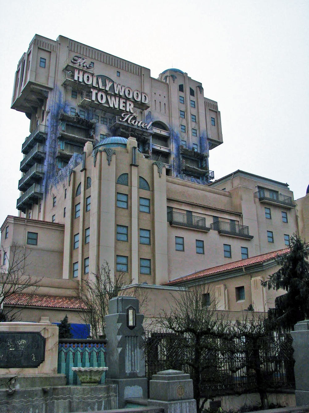 The Twilight Zone Tower of Terror, na Disneyland Paris