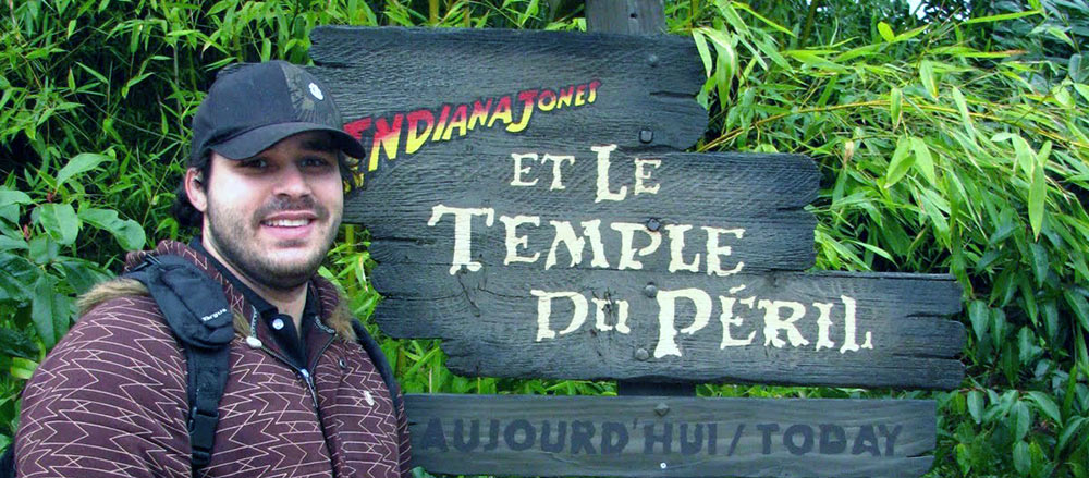 Indiana Jones and the Temple of Peril, na Disneyland Paris