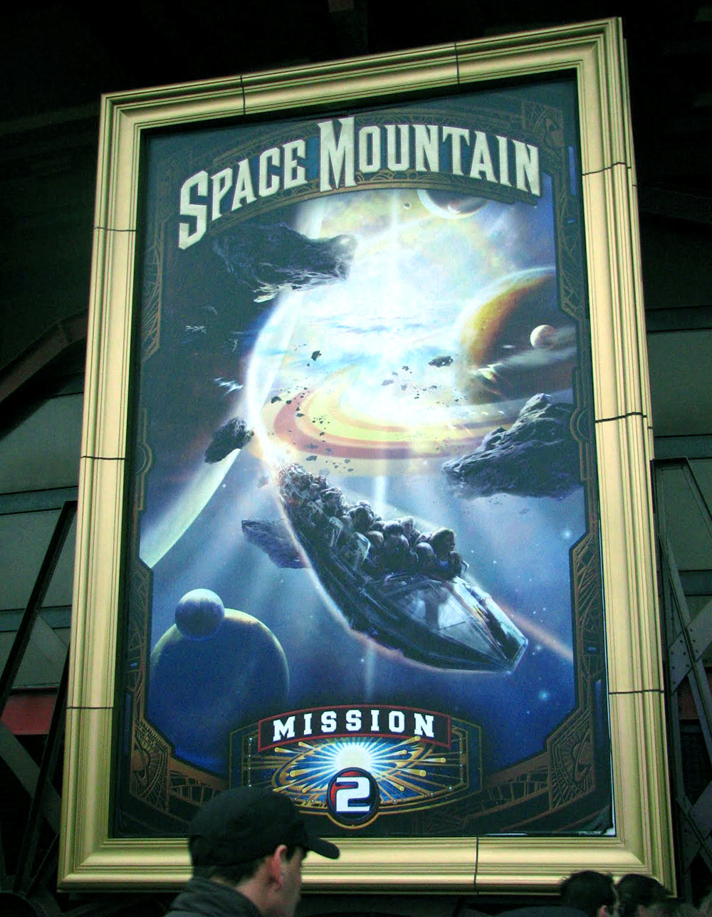 Space Mountain: Mission 2, na Disneyland Paris