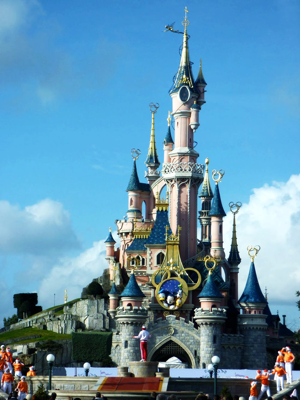 Sleeping Beauty Castle, na Disneyland Paris