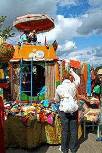 A feira que acontece no Mauerpark, em Berlim