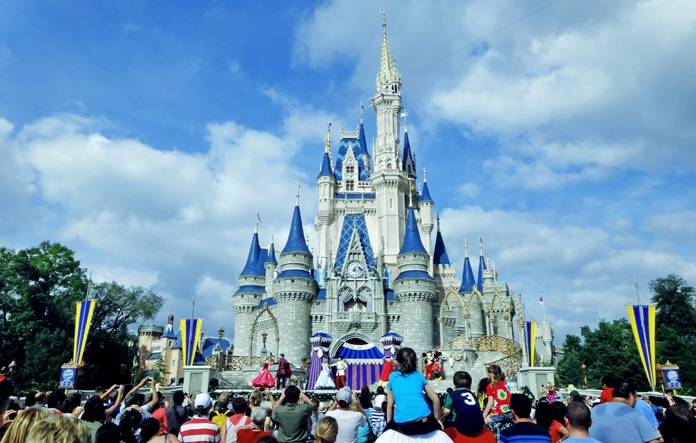 Castelo da Cinderella, no parque Disney's Magic Kingdom