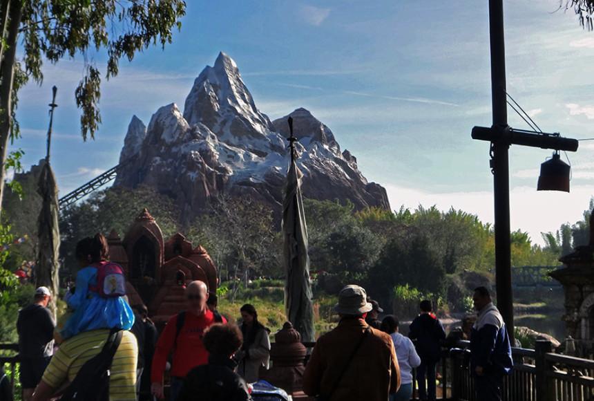 A atração Expedition Everest, no parque Disney's Animal Kingdom