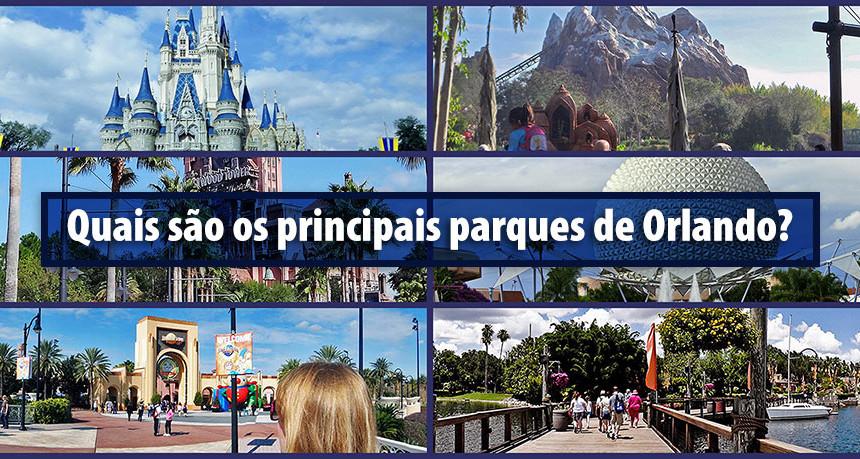 Quais são os principais parques de Orlando?