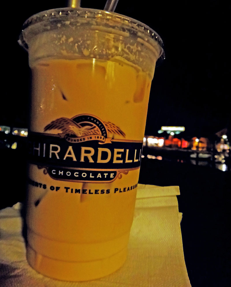 Delicioso Café Gelado Ghirardelli