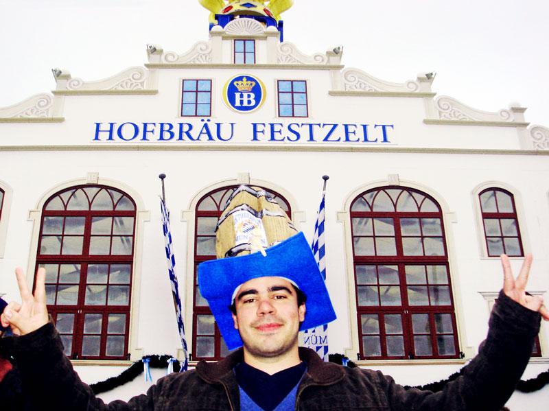 Hofbräu-Festzelt, a tenda da Hofbräuhaus na Oktoberfest