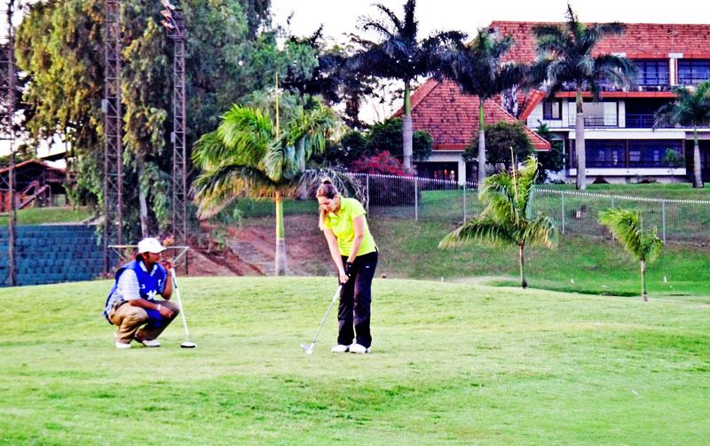 Campo de Golfe no Resort Yacht y Golf Club Paraguayo