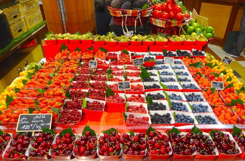 Frutas no Hediard