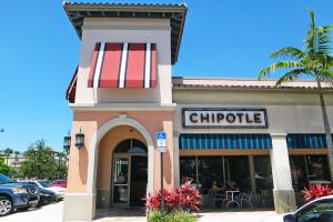 Comida rápida na Flórida: Chipotle Mexican Grill