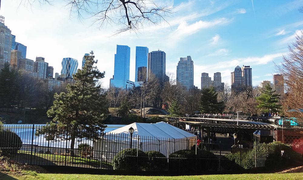 Vista de Manhattan a partir do Central Park