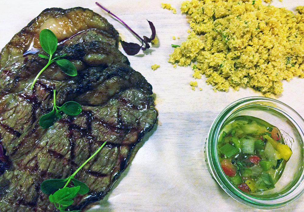 A suculenta picanha do Sudaka, o restaurante de cozinha Sul-Americana da nossa convidada de hoje, Josie Franke