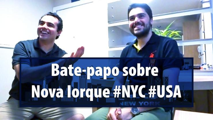 Bate-papo sobre Nova Iorque