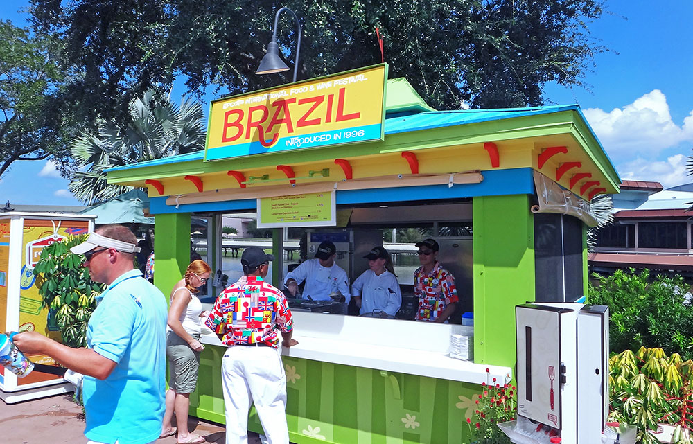 A barraca do Brasil está novamente presente na edição 2016 do Epcot International Food and Wine Festival