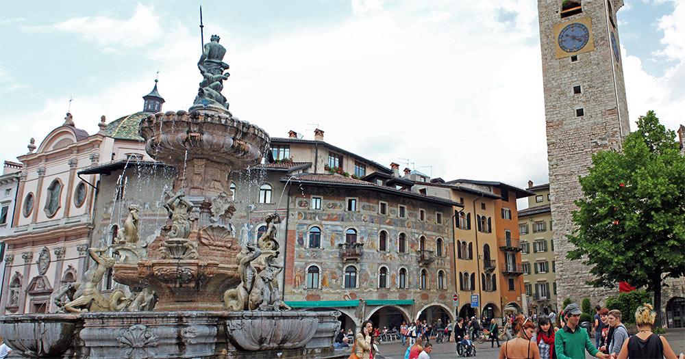 A cidade de Trento